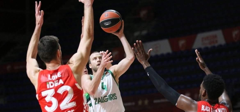 EuroLeague: Ζαλγκίρις και Ερυθρός Αστέρας διασταυρώνουν τα «ξίφη» τους (ΦΩΤΟ)